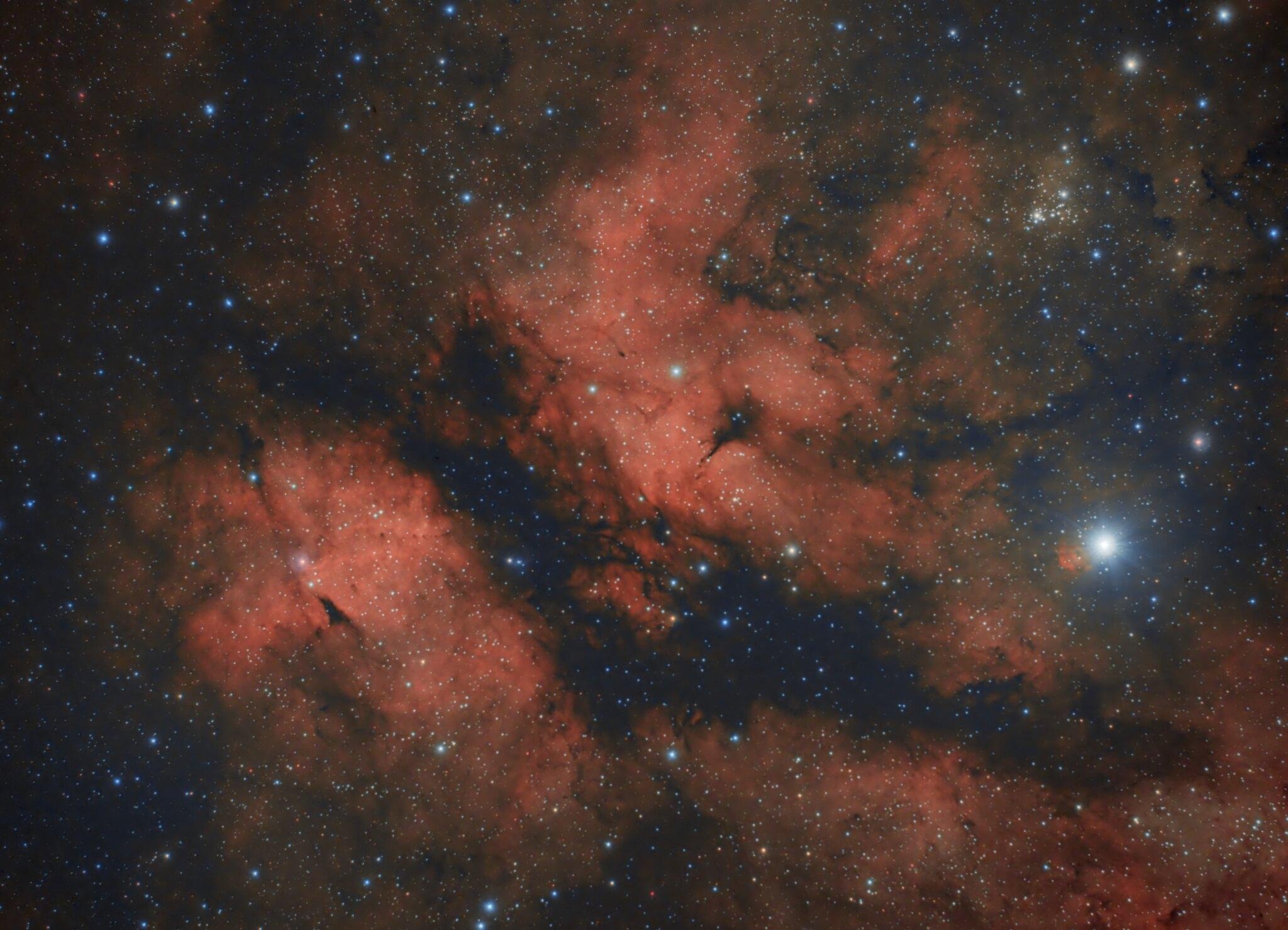Gamma Cygni Nebula - IC1318