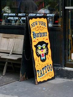 N.Y.H.C. Tattoo