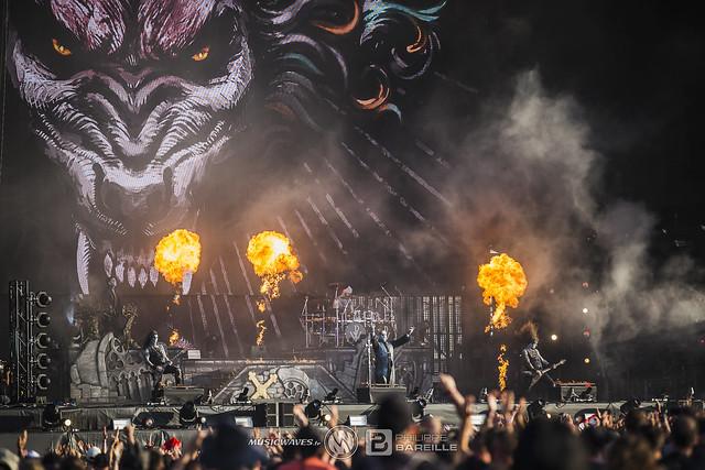 Powerwolf @ Knotfest 2019, Paris | 20/06/2019