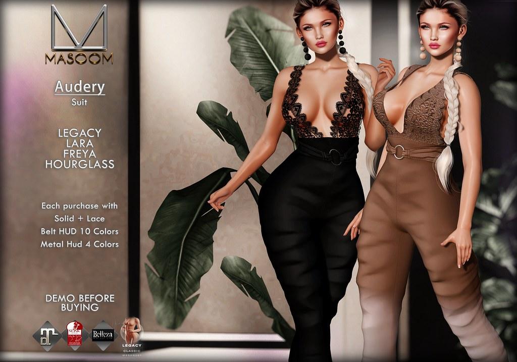[[ Masoom ]] Audery Suit @ Cosmopolitan