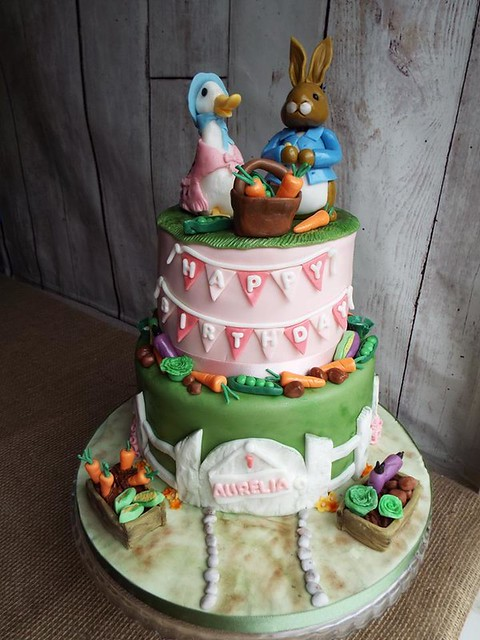 Petter Rabbit Themed Cake by Gail's Cake Pantry