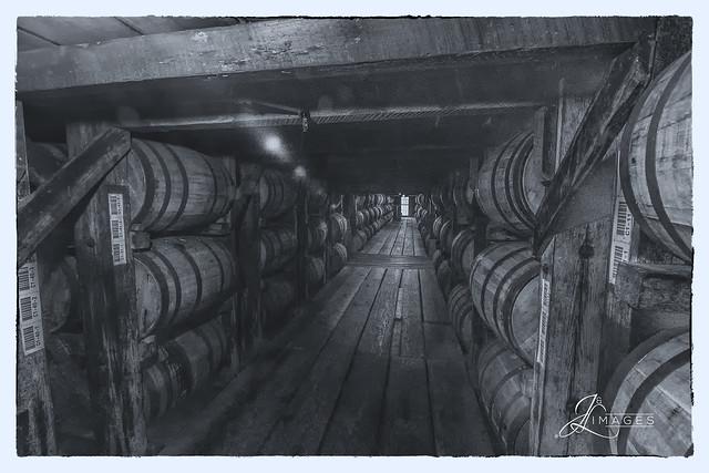 Bourbon Barrels @ Buffalo Track Distillery