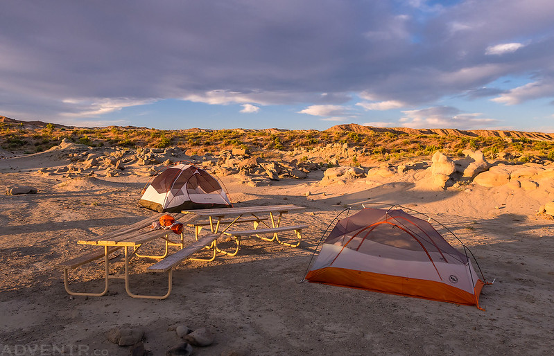 Fantasy Canyon Camping