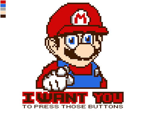Mario Wants You | by Crabmaster2000