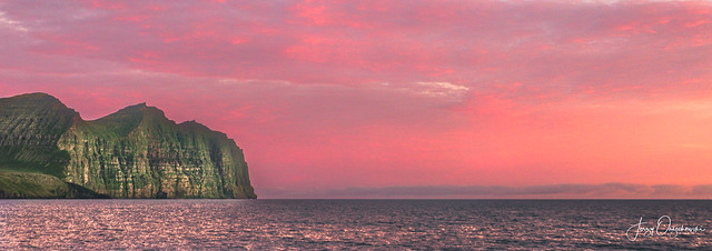 Westfjord sunset