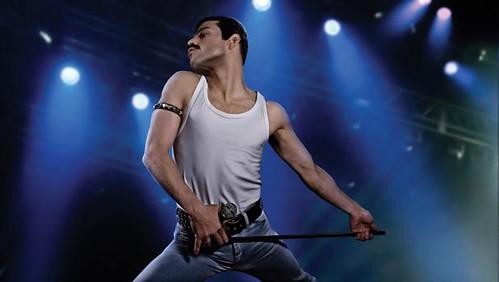 Rami Malek interpretando a Freddy Mercury. Fotografía recuperada de El Independiente
