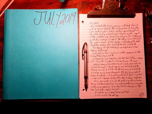 July 2019 Diary