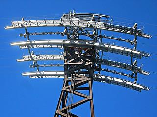 Tramway tower