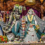 ISKCON Mayapur Deity Darshan 01 July 2019