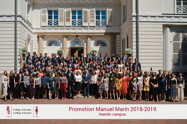 Closing Ceremony for the Manuel Marín Promotion 2018-2019 at the Natolin Campus - 25.06.2019