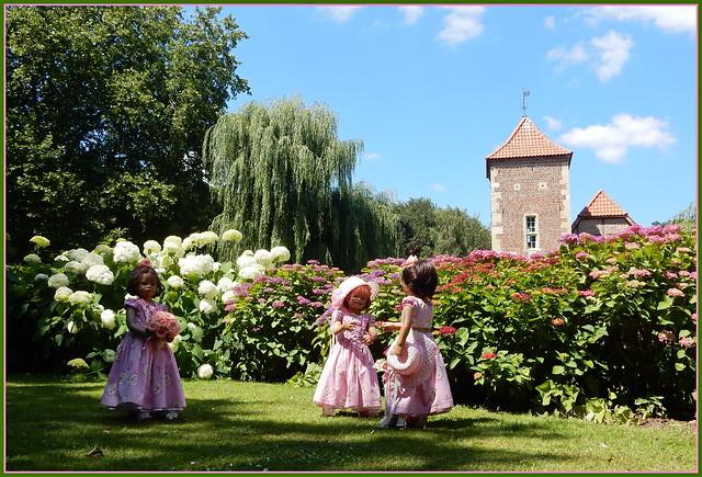 🌼💗🌼Wir besuchen Burg Hülshoff 🌼💗🌼