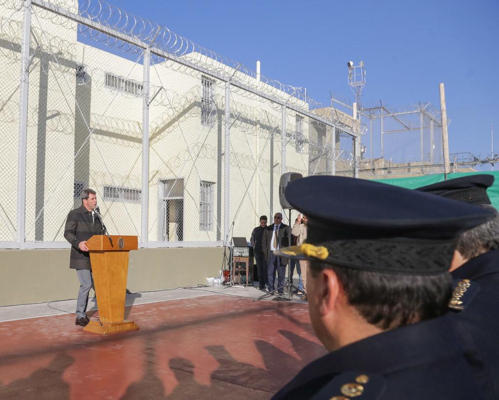 2019-07-01 PRENSA: Acto de Inauguración de Obras de Ampliación del Sector Nº1 del  Pabellón del Servicio Penitenciario Provincial