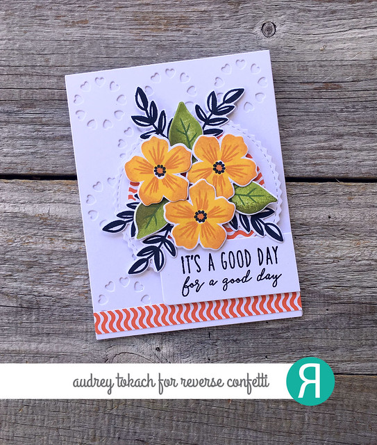 Bold Blooms and Sentimental Sayings