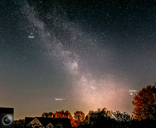 Milky Way From Oxfordshire, 18mm Lens 01/07/19