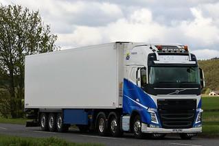 Gerrie Transport Volvo FH Globetrotter KP14VNU