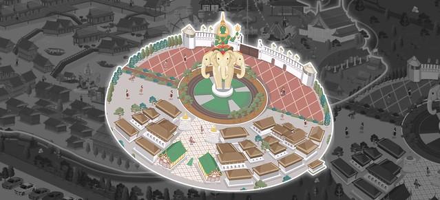 The Legend Siam Pattaya Siam Vilize map