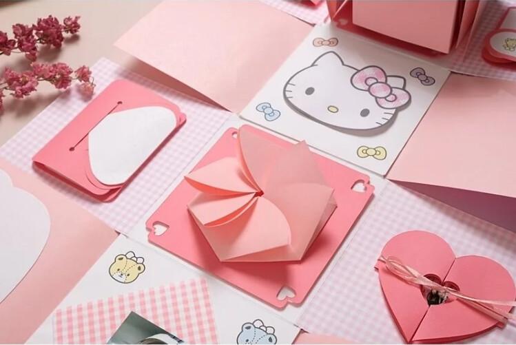 KITTY禮物造型材料包