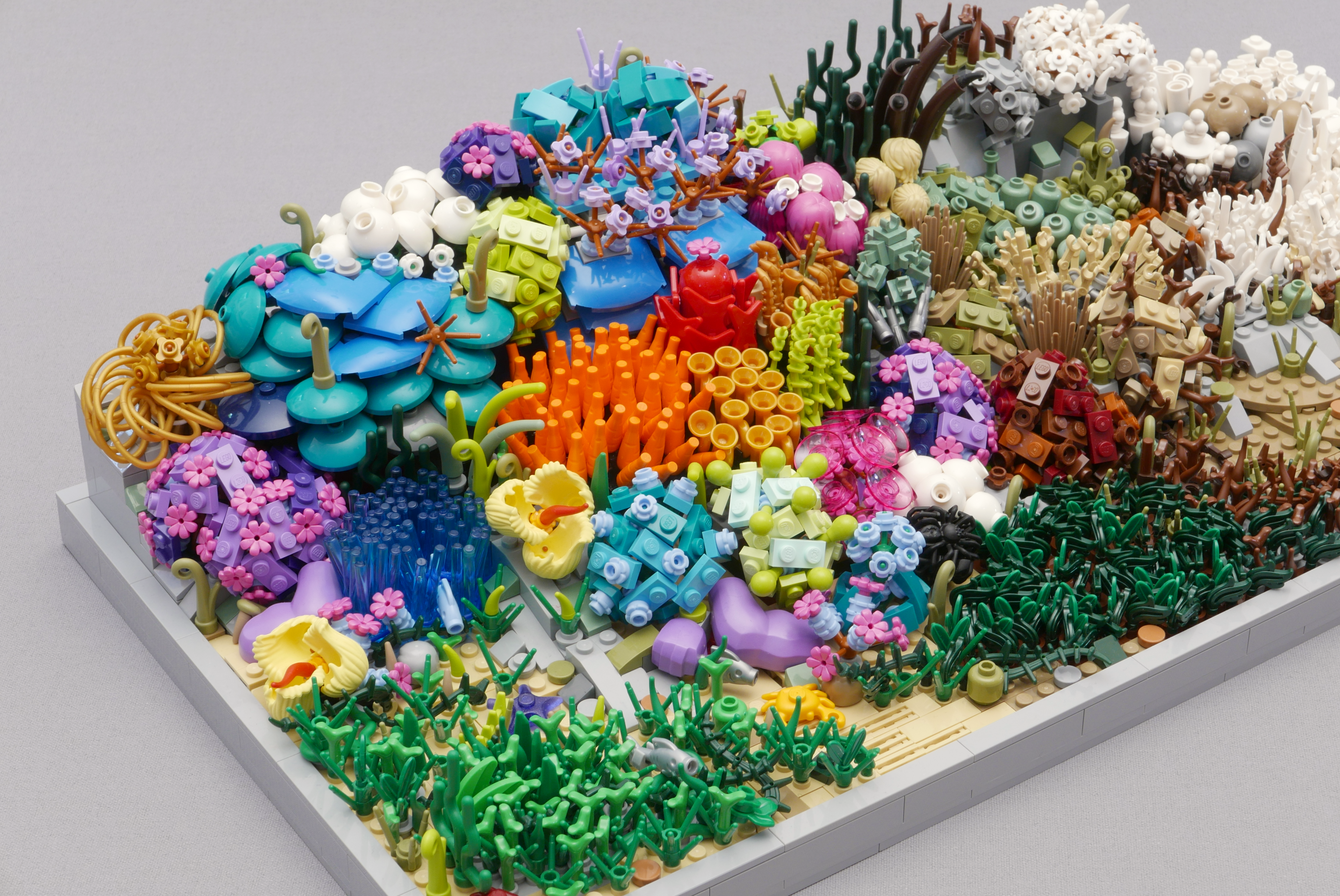 Lego coral bleaching