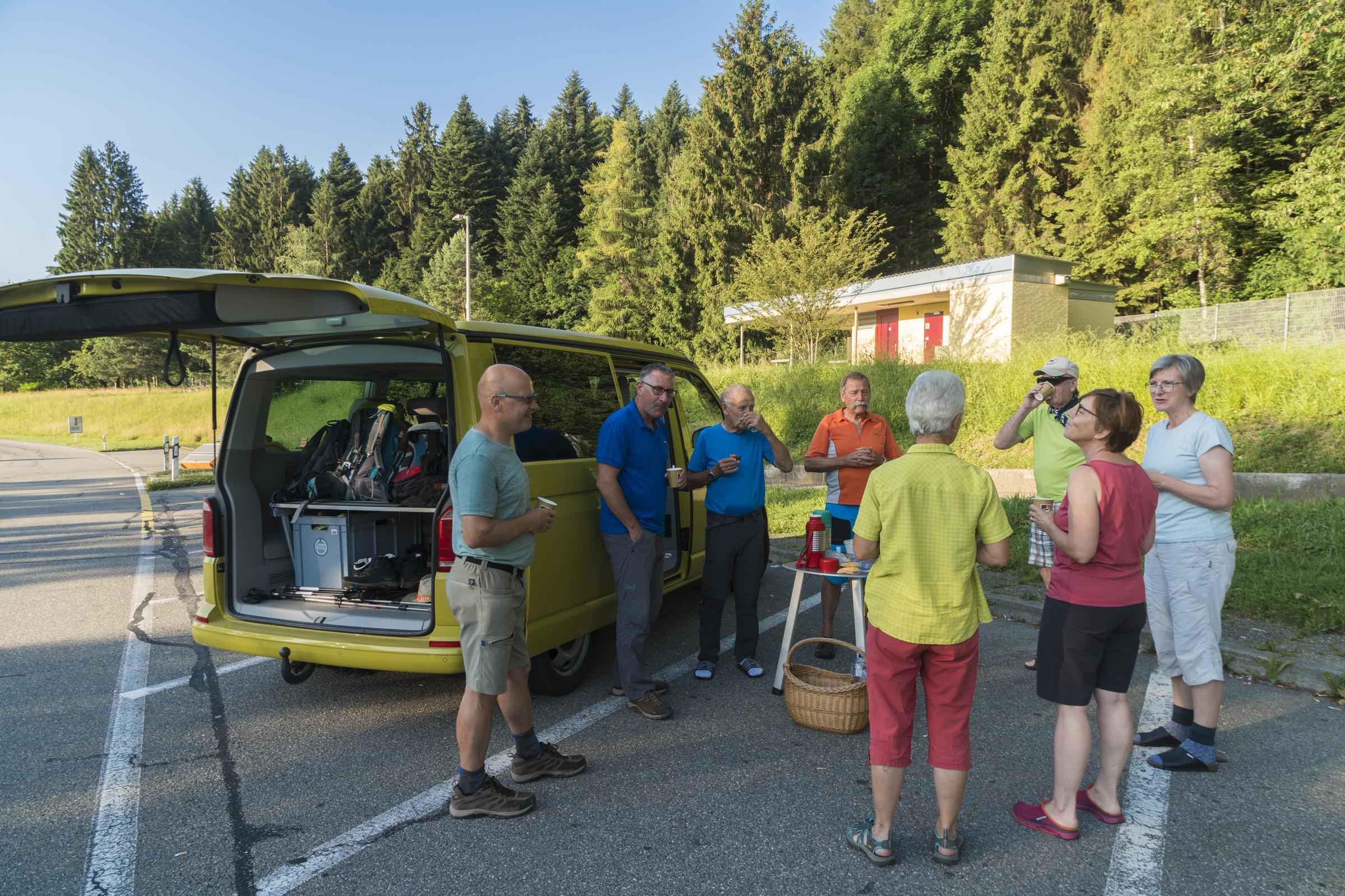 Wanderung zum Seebergsee 30.06.2019