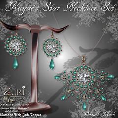 Zuri's Kaysie's Star Set Dia_Rich Jade_Copper