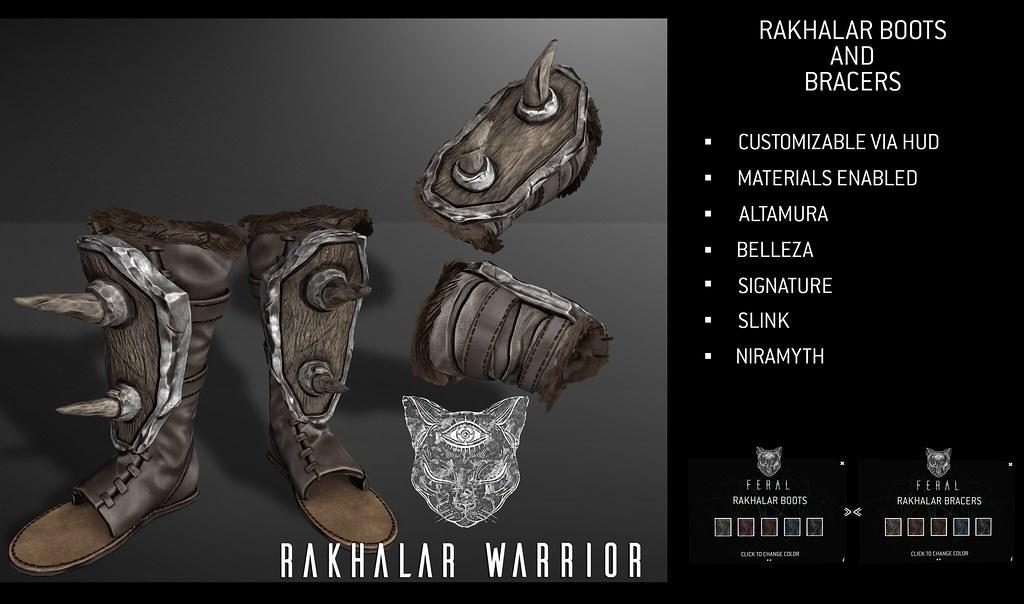 Feral – Rakhalar Warrior Set