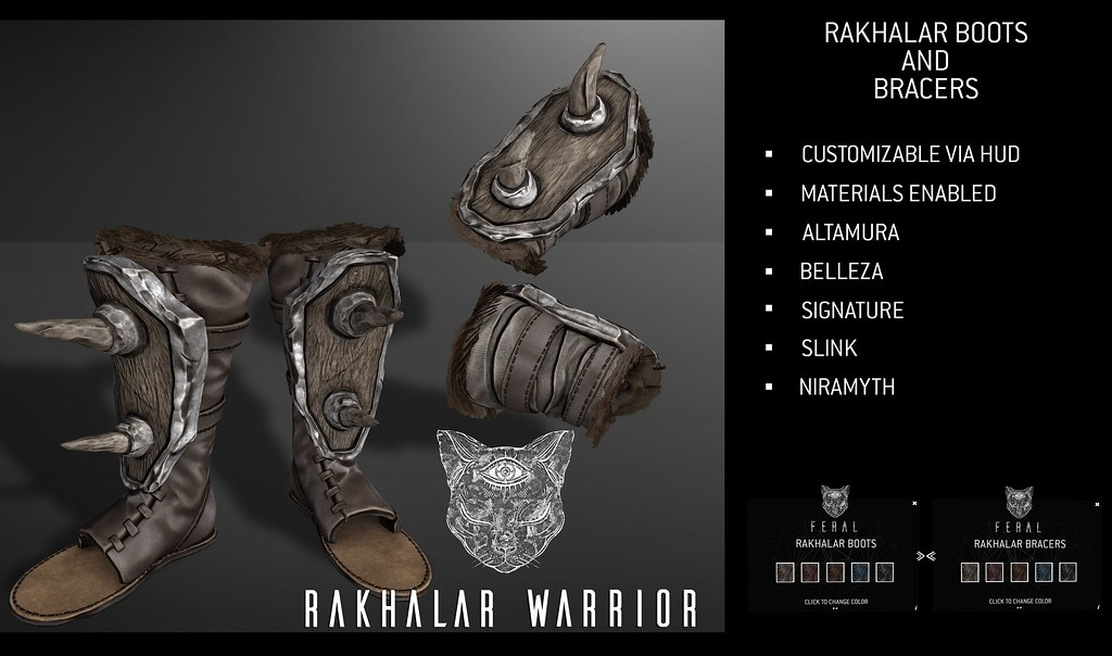 Feral - Rakhalar Warrior Set - TeleportHub.com Live!