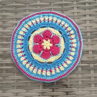 Afrikanische Blume Mandala