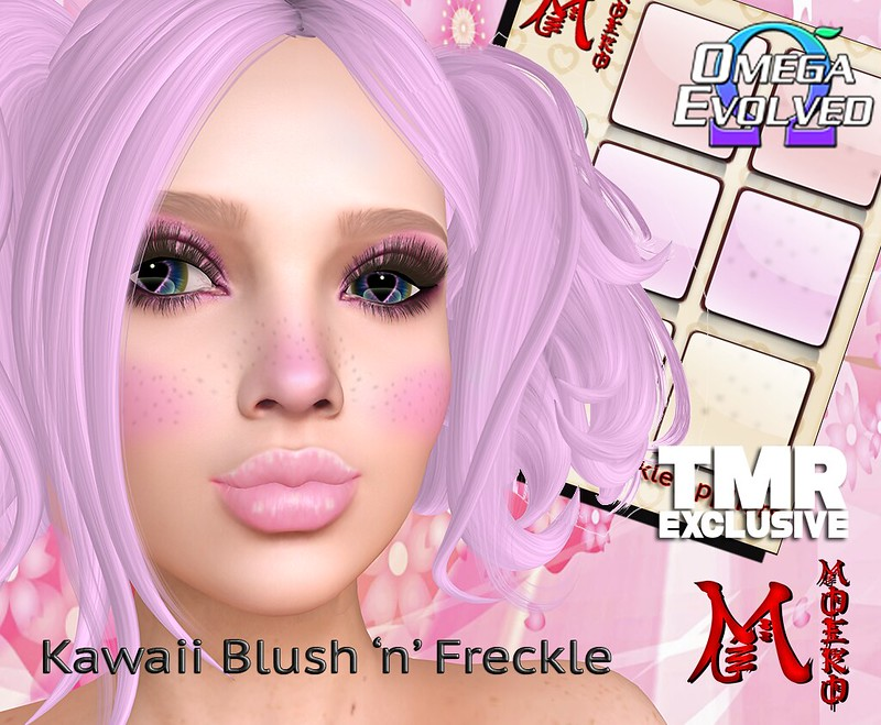 Kawaii blush n freckle ad1024