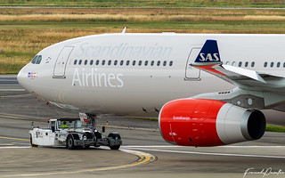 Airbus A330 SAS Scandinavian Airlines SE-REH