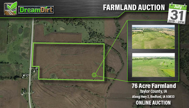 DreamDirt | Tillable Farmland Taylor County, Iowa Auction