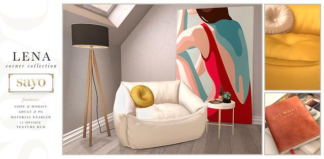 SAYO - Lena Corner Collection @ Fameshed