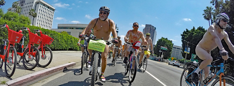 LA World Naked Bike Ride 2019 (143036A)