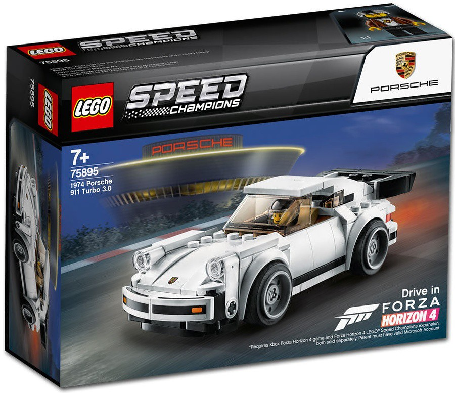LEGO 75895 SPEED CHAMPIONS 1974 Porshe 911 Turbo 3.0