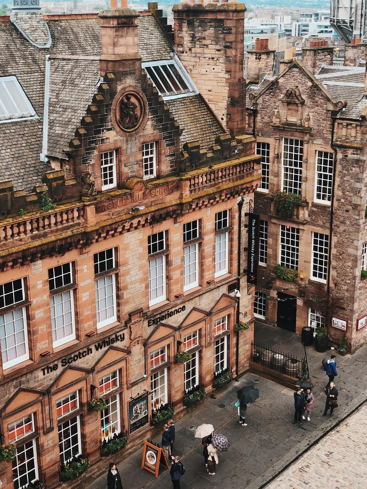 Edinburgh-kokemuksia