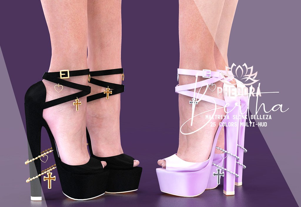 "Phedora. for Kinky Event – ""Bertha"" heels ♥"