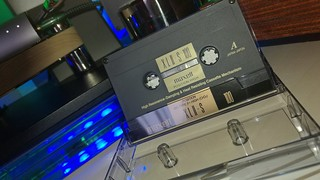 MAXELL XLII-S 100m type 2 Chrome cassette, black magnetite design Japan market - one of the best tape value for money.