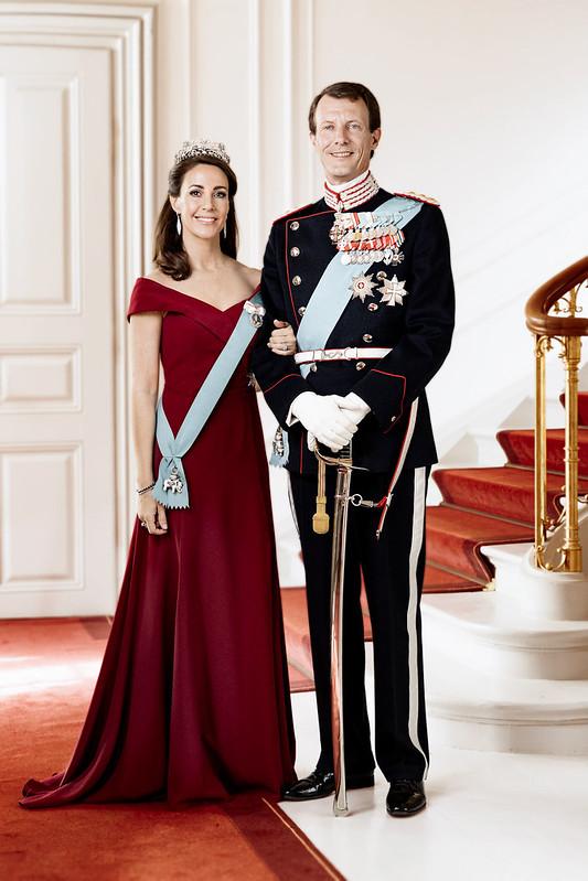 Nieuwe officiële foto's Prins Joachim en Prinses Marie van Denemarken (2019)