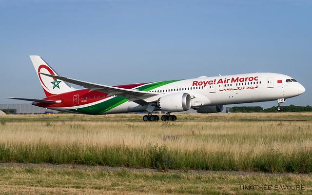 ORY | Royal Air Maroc Boeing 787-9 Dreamliner | CN-RGY