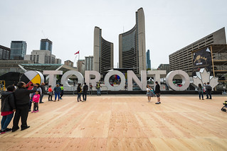 Toronto - Nath Phillips Square prepares for the Raptors | by b.m.a.n.