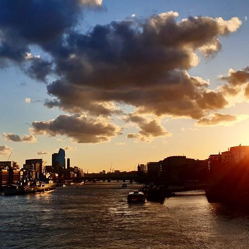 Tramonto londinese