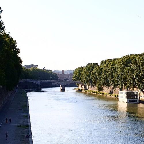 Roma: vista sul tevere