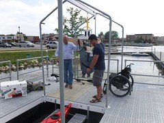 PaddleSafe Adaptive Kayak Launch