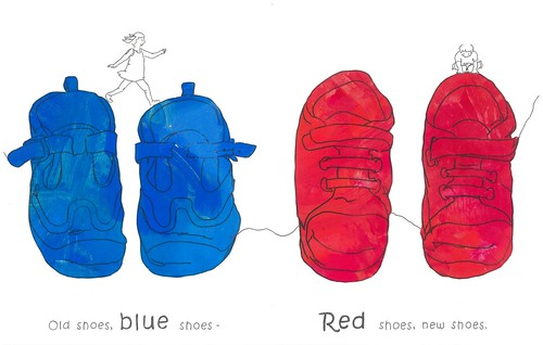 03 blue red