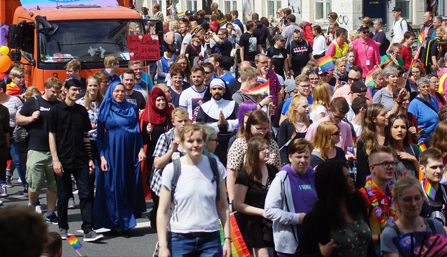 25. CSD Nordwest 12.000 participants / Gay Pride 2019 -  - Oldenburg population 170.000 (Lower Saxony / Germany)
