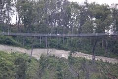 Gatlinburg SkyLift Swing Bridge