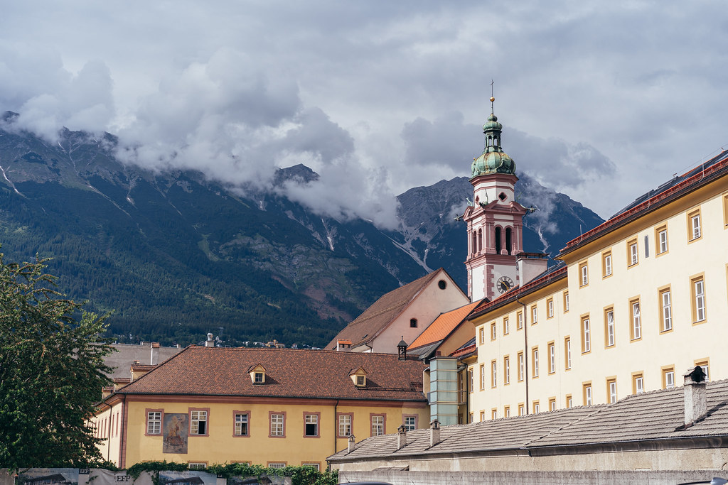 Sankt Josef besides the Alps