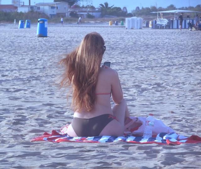 Día en la playa