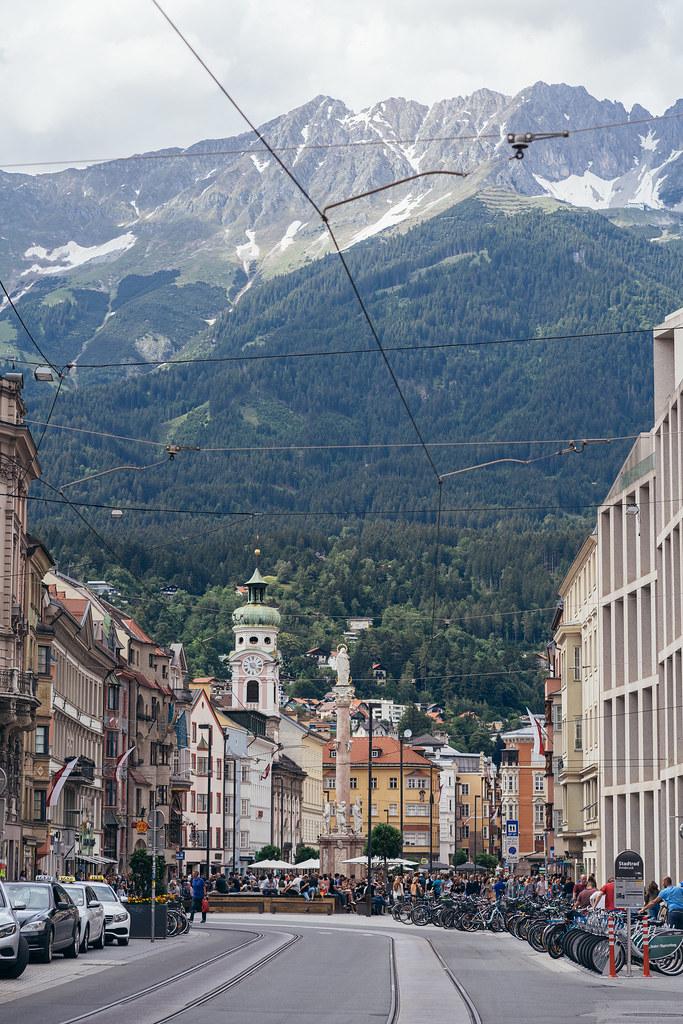 Innsbruck besides the Alps