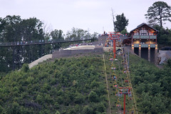 Gatlinburg SkyLift Swing Bridge