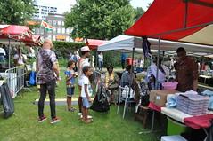 NEDERLAND, THE NETHERLANDS, HOLLAND,  PAYS-BAS, HOLANDA, ROTTERDAM, festival keti koti rotterdam 2019,  Wijkpark Oude Westen op de West-Kruiskade, DIA DE LA LIBERTAD, Surinaamse nationale feestdag, Emancipatiedag, 1-07-2019,